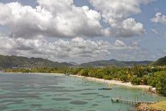 Strand Martinique - sainte-Anne stock fotografie