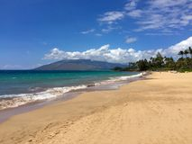 strand maui Royaltyfri Foto