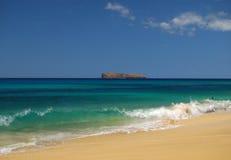 strand maui Royaltyfri Fotografi