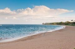 Strand in Maui Hawaï Stock Foto