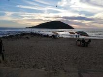 Strand Mazatlà ¡ n stock afbeelding