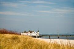 Strand in Mecklenburg, Duitsland Stock Afbeeldingen