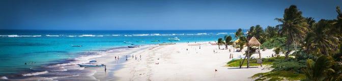strand mexico Arkivfoto