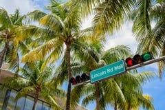 strand miami Arkivbilder
