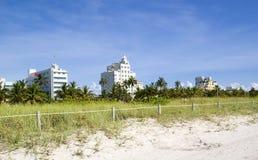 strand miami Arkivbild