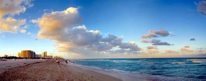 strand miami Royaltyfri Foto