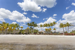 Strand in Miami, Florida stock foto