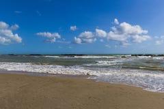 Strand mit Meer shaken-3 Lizenzfreie Stockfotos