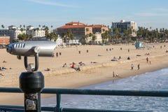 strand monica santa Fotografering för Bildbyråer