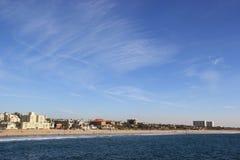 strand monica santa Royaltyfri Foto