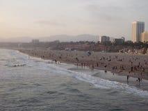 strand monica santa Royaltyfri Bild