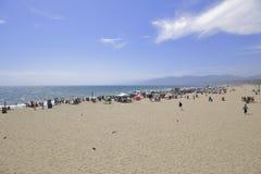 strand monica santa Royaltyfria Foton