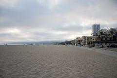 strand monica santa Arkivbilder