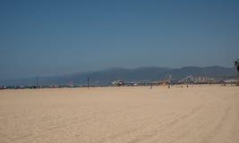 strand monica santa Arkivfoton