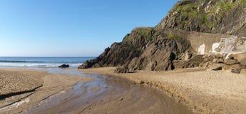Strand nära det Slea huvudet Arkivbild