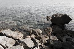 Strand Närbild adriatic hav Royaltyfri Fotografi