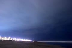 Strand nachts Stockbilder