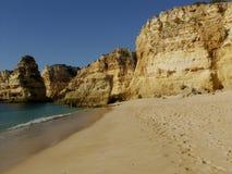 Strand nahe Carvoeiro, Algarve, Portugal Stockfoto