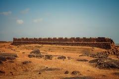 Strand-Naturmeer Indiens Goa lizenzfreies stockbild