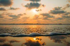 Strand-Naturmeer Indiens Goa Stockfotos