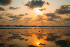 Strand-Naturmeer Indiens Goa lizenzfreie stockfotos
