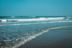 Strand-Naturmeer Indiens Goa Stockbilder