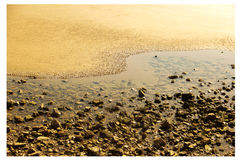 Strand Natuurlijk Tai Chi stock afbeeldingen