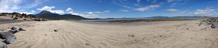 Strand neben Croagh Patrick Mayo Ireland Lizenzfreie Stockfotos