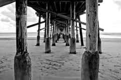 strand newport Arkivbild