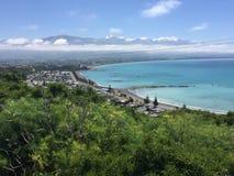 Strand in Nieuw Zeeland Stock Afbeelding