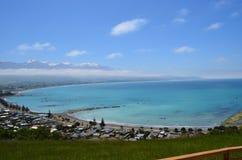 Strand in Nieuw Zeeland Royalty-vrije Stock Afbeelding