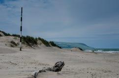 Strand in Noordelijk Wales Royalty-vrije Stock Foto's