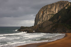 strand norr spain Royaltyfria Foton