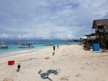 Strand Nusa Lembongan Lizenzfreie Stockfotografie