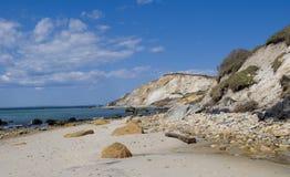 strand nya england Arkivbilder