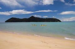 Strand Nya Zeeland Arkivbilder