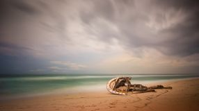 Strand Nyang Nyang, Bali, Indonesien lizenzfreie stockbilder