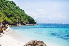 Strand- och blåtthav i Bali Royaltyfria Foton