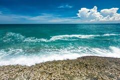 Strand och hav Arkivfoton