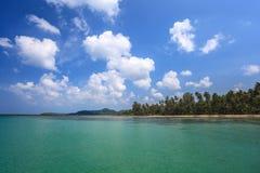 Strand och hav Royaltyfria Bilder