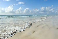 Strand och hav royaltyfria foton
