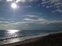 Strand och hav Royaltyfri Foto
