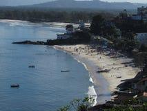 Strand och horisont Arkivfoton