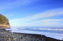 Strand och rocks Royaltyfria Foton