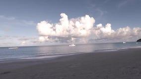 Strand och sand stock video