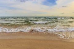 Strand och sky Arkivfoton