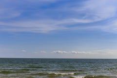 Strand och sky Royaltyfri Foto