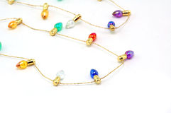 Free Strand Of Brightly Colored Tiny Bulbs Royalty Free Stock Photography - 357407
