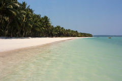 Strand op Andaman-Eilanden Royalty-vrije Stock Afbeelding