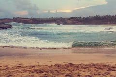 Strand op Bali Stock Fotografie